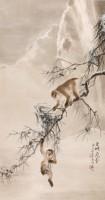 Gao Qifeng, Neige dans la gorge Wu, 1916. Encre et couleurs sur papier (c) Hong Kong Museum of Art