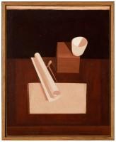 Le Corbusier, Le bol rouge, 1919. Huile sur toile © FLC, ADAGP, Paris 2015