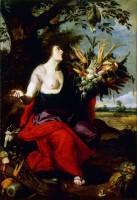 Juan Van Der Hamen y Leon (Madrid, 1596-1631). Allégorie de l'été ou Cérès. Non datée. Huile sur toile. Collection Gerstenmaier © Photo: Collection Gerstenmaier