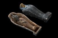 Simulacre végétal d'une momie d'Osiris, Musée égyptien du Caire. Photo : Christoph Gerigk © Franck Goddio/Hilti Foundation
