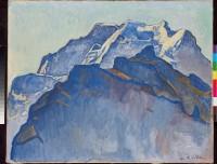 Ferdinand Hodler – Le Massif de la Jungfrau vu depuis Mürren – 1911 – Huile sur toile © Hahnloser/ Jaeggli Stiftung, Winterthur. Photo Reto Pedrini, Zürich