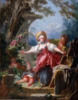 "Jean-Honoré Fragonard, ""Le Colin-Maillard"", vers 1754-1756, huile sur toile, 116,8 x 91,4 cm, Toledo, toledo Museum of Art, don Edward Drummond Libbey, © Toledo Art Museum"