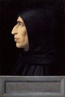 Fra' Bartolomeo, Portrait de Savonarole, 1498-1499. Huile sur bois. Florence, Musée de San Marco © Soprintendenza Speciale per il Patrimonio Storico Artistico ed Etnoantropologico e per il Polo Museale della Città di Firenze - Gabinetto Fotografico