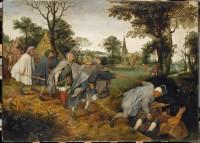 Copie d'après Pieter I Bruegel (1525-1569), La Parabole des aveugles, fin du XVIe siècle. Huile sur toile (c) RMN-Grand Palais (musée du Louvre) / Photo Michel Urtado