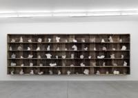 Ugo Rondinone (né en 1964). Diary of Clouds, 2007/08. Bois et cire (c) Galerie Eva Presenhuber (c) Ugo Rondinone