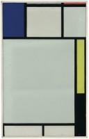Piet Mondrian Composition avec bleu, rouge, jaune et noir Huile sur toile, 1922 Abou Dhabi, Louvre Abou Dhabi Ancienne collection Yves Saint Laurent - Pierre Bergé