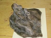 Auguste Rodin (1840-1917). L'Ombre, fragment, avant 1886. Bronze (c) Coll. particulière Cantor Fitzgerald