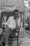 Wilfredo Lam, Cuba, 1956 Photo : Jesse A. Fernandez © Estate Jesse A. Fernandez Collection France Mazin Fernandez