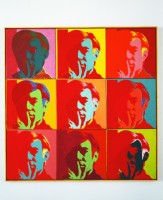 Andy Warhol (1928-1987), Self-Portrait, 1966, peinture acrylique et encre sérigraphique sur 9 toiles de 57,2 x 57,2 cm, dimension totale : 171,7 x 171,7 cm, New York, Museum of Modern Art (MoMA), Gift of Philip Johnson. Acc. n.: 513.1998.a-i. © 2015. Digital image, The Museum of Modern Art, New York/Scala, Florence © The Andy Warhol Foundation for the Visual Arts, Inc. / ADAGP, Paris 2015