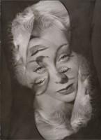 Philippe Halsman — Expérimentation pour un portrait de femme, 1931-1940. Archives Philippe Halsman © 2015 Philippe Halsman Archive / Magnum Photos