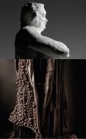 Composition autour du Balzac de Rodin par Patrick Roger (c) Patrick Roger