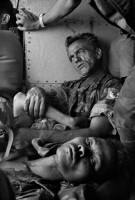 Bataille de An Loc, Vietnam du Sud, 1972 © Bruno Barbey / Magnum Photos