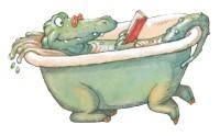 Illustration tirée de l'album « N'oublie pas de te laver les dents ! » © Philippe Corentin