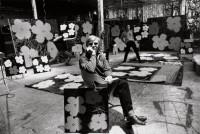 Ugo Mulas, Andy Warhol, Philip Fagan et Gerard Malanga, New York, 1964 © Estate Ugo Mulas, Milano - Courtesy Galleria Lia Rumma, Milano / Napoli