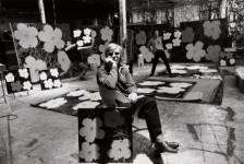 Andy Warhol, Philip Fagan et Gerard Malanga, New York, 1964