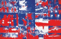 Album Le Rouge, 1968. 21 affiches sérigraphiées. Centre Pompidou, Musée national d'art moderne, don de l'artiste, 2006 © Gérard Fromanger, 2016 © Collection Centre Pompidou/Dist. RMN-GP photo Georges Merguerditchian