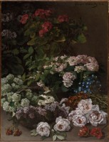 Claude Monet, Spring Flowers, 1864. Photo © The Cleveland Museum of Art