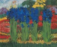 Emil Nolde, Flower Garden (O), 1922 © Nolde Stiftung Seebüll