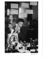 Nicolas Le Riche dans sa loge de l'Opéra de Paris (c) Ann Ray