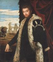 Paolo Caliari, dit Véronèse. Portrait d'homme, vers 1555. Huile sur toile, 120 x 102 cm Budapest, musée des Beaux-Arts © Musée des Beaux-Arts, Budapest 2016