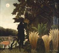 Henri Rousseau, dit Le Douanier Rousseau (1844-1910) La charmeuse de serpents, 1907 Huile sur toile, 167 x 189,5 cm Paris, musée d'Orsay © RMN-Grand Palais (musée d'Orsay) / Hervé Lewandowski