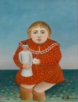 Henri Rousseau, dit Le Douanier Rousseau (1844-1910) L'Enfant à la poupée, 1904-1905 Huile sur toile, 67 x 52 cm Paris, musée de l'Orangerie © RMN-Grand Palais (musée de l'Orangerie) / Franck Raux