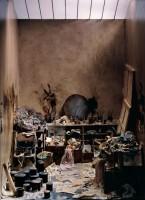 Charles Matton L'Atelier de Francis Bacon, 1986. Boîte (maté- riaux divers). Collection particulière. Photo Charles Matton © Adagp, Paris 2016