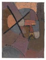 PAUL KLEE Von der Liste gestrichen Rayé de la liste, 1933 Huile sur papier sur carton - 31.5 x 24 cm Zentrum Paul Klee, Berne Donation Livia Klee