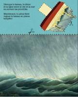 Extrait du carnet du Douanier Rousseau, Musée d'Orsay et Editions Courtes et Longues, 2016
