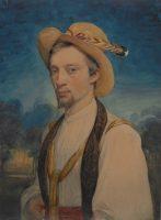 Charles Gleyre (1806-1874). Autoportrait, 1830-1834 © Nora Rupp, Musée cantonal des Beaux-Arts de Lausanne