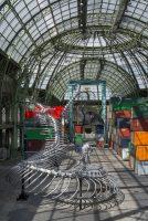 Huang Yong Ping, Empires - Monumenta 2016. Simulation 3D du projet par l'Atelier Alain Deswarte (c) Adagp Huang Yong Ping. Courtesy de l'artiste et Kamel Mennour, Paris