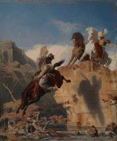 Charles Gleyre (1806-1874). Cavaliers turcs et arabes, 1838-1839 © Nora Rupp, Musée cantonal des Beaux-Arts de Lausanne