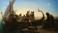 Charles Gleyre (1806-1874). Les Illusions perdues dit aussi Le Soir, 1843 Huile sur toile. Photo © RMN-Grand Palais (musée du Louvre) / Michel Urtado
