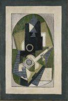 Pablo Picasso (1881-1973). L'Homme à la guitare, 1918 © BPK, Berlin, Dist. RMN-Grand Palais / image BPK © Succession Picasso 2016