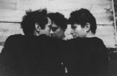 John Cohen Robert Frank, Alfred Leslie, Gregory Corso, 1959 Épreuve gélatino-argentique, 22.2 x 33 cm © John Cohen photo © Courtesy L. Parker Stephenson Photographs, new York