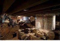 Crypte archéologique, vue des termes © Pierre Antoine