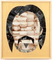 Eduardo Arroyo (né en 1937). Portrait de Balzac, 2014. Collage sur papier (c) Maison de Balzac / Roger-Viollet (c) Adagp, Paris 2016