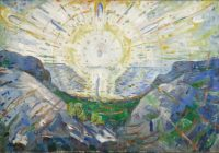 Edvard Munch, Le Soleil, 1912. Huile sur toile, 123 x 176,5 cm. Oslo, Munchmuseet / Photo © Munch Museum