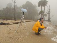 Bernie Krause, île de Saint Vincent, Floride, 2001 Photo : Tim Chapman