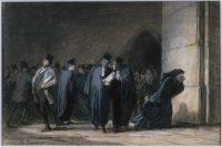 DAUMIER Honoré (1808-1879). Le Palais de justice, 1850. Musée des Beaux-Arts de la Ville de Paris, Petit Palais © Petit Palais / Roger-Viollet