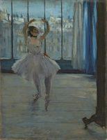 Edgar Degas, La Danseuse dans l'atelier du photographe, 1875 ©Moscou, Musée d'État des Beaux-Arts Pouchkine