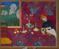 Henri Matisse, La Desserte (Harmonie rouge, La Chambre rouge), printemps-été 1908 ©Succession H. Matisse Photo ©Saint-Pétersbourg, Musée d'État de l'Ermitage, 2016