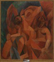 Pablo Picasso, Trois femmes. Esquisse du tableau, 1908. © Succession Picasso 2016 Photo ©Moscou, Musée d'État des Beaux-Arts Pouchkine