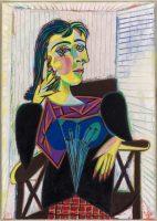 Pablo Picasso, Portrait de Dora Maar, Paris, 1937 Huile sur toile, Musée national Picasso-Paris © Succession Picasso 2016