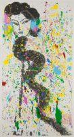 Walasse Ting. Beauté, 1969/70. Encre et couleurs sur papier. Paris, musée Cernuschi (c) Musée Cernuschi / Roger-Viollet / The Estate of Walasse Ting / Adagp, 2016