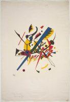 Vassily Kandinsky, Kleine Welten I, lithographie en couleur, 1922, Photo © Centre Pompidou, MNAM-CCI, Dist. RMN-Grand Palais / DR