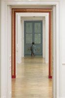 Maurizio Cattelan, Him, 2001. Photo: Zeno Zotti Vue de l'exposition Maurizio Cattelan, Not Afraid of Love à la Monnaie de Paris, du 21 octobre 2016 au 8 janvier 2017