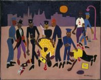 William H.Johnson, Moon over Harlem, vers 1943/44 © Washington D.C., Smithsonian American Art Museum