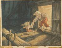 Gustaf Tenggren. Concept Art. Pinocchio, 1940 © Disney