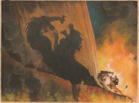 Kelvin Yasuda. Concept Art. Le Roi Lion, 1994 © Disney